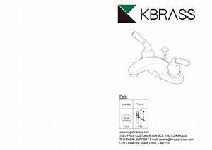 Kingston Brass Hfb5628dx Concord 4 In  Centerset 2