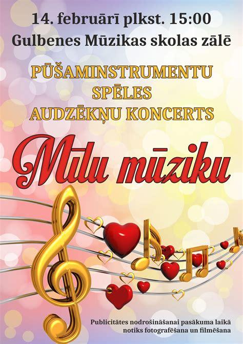 Mīlu mūziku   Gulbenes mūzikas skola