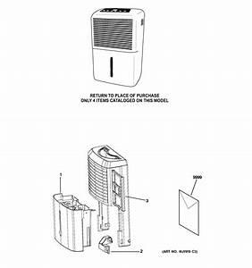 Ge Apel70ltl1 Dehumidifier Parts
