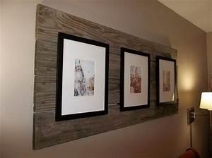 Frames, Mounted, On, Old, Pallet, Boards