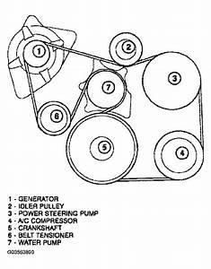 Serpentine Belt Routing Diagram For 2004 Dodge Ram 5 7l Hemi