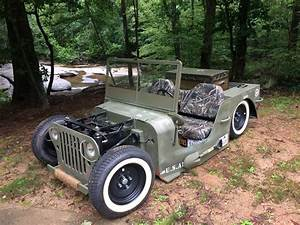 Rodded Jeep Golf Cart