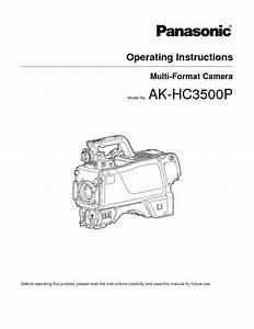 Ak-hc3500p Manuals