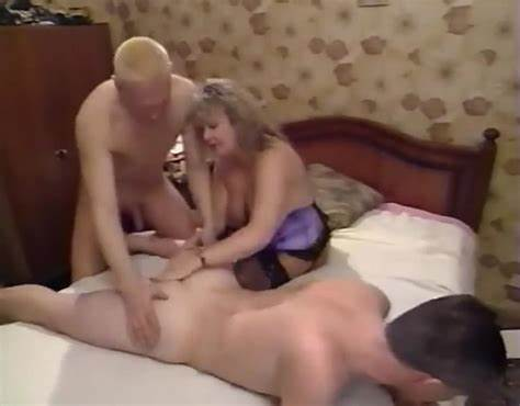 Husband Bdsm Darksome Pecker Redhead Man Stuffed In Lesbian Mff