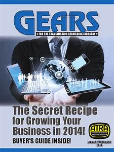 2014 January  February Gears Buyers Guide Issue