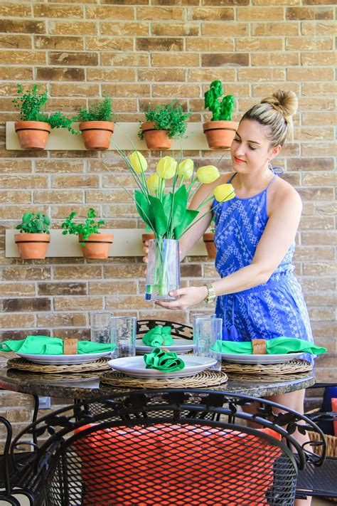 Our Back Porch Makeover - One Swainky Couple   Back porch makeover, Porch makeover, Summer fashion