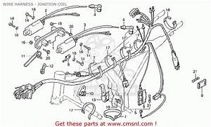 Honda Cb125t England Wire Harness - Ignition Coil