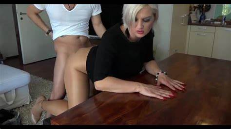 Dress Toes Nylons Muff Table
