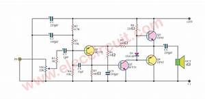 Tip41 Tip42 Amplifier Diagram