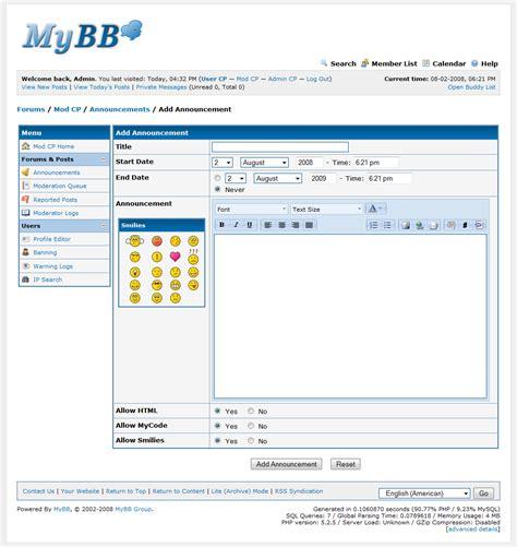 Mod CP Forums Posts - MyBB Documentation