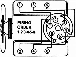Chevy V6 Firing Order Diagram