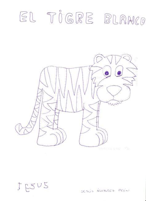 Pero no es el tigre blanco no es albino. Libro Viajero: EL TIGRE BLANCO