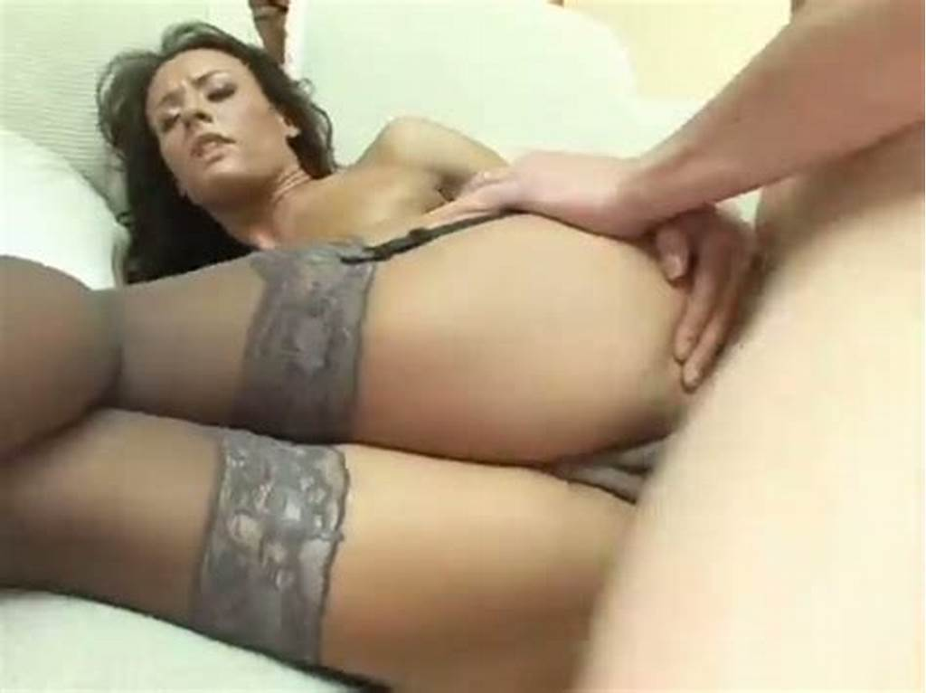 #Doggystyle #Anal #Sex #Scene #With #A #Captivating #Brown