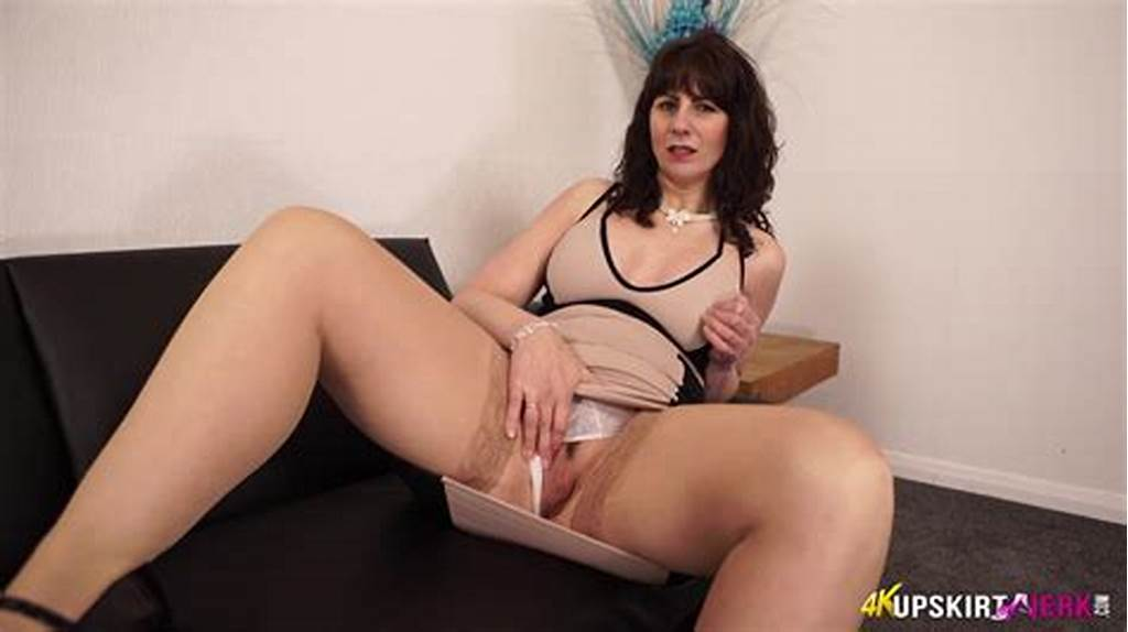 #Big #Ass #British #Mature #Milf #Toni #Lee #Teasing #In #Her