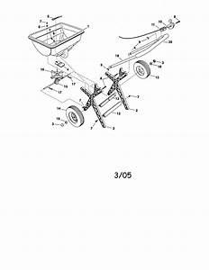 Craftsman 4861994 Power Rake Parts