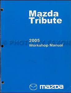 2005 Mazda Tribute Wiring Diagram Manual Original