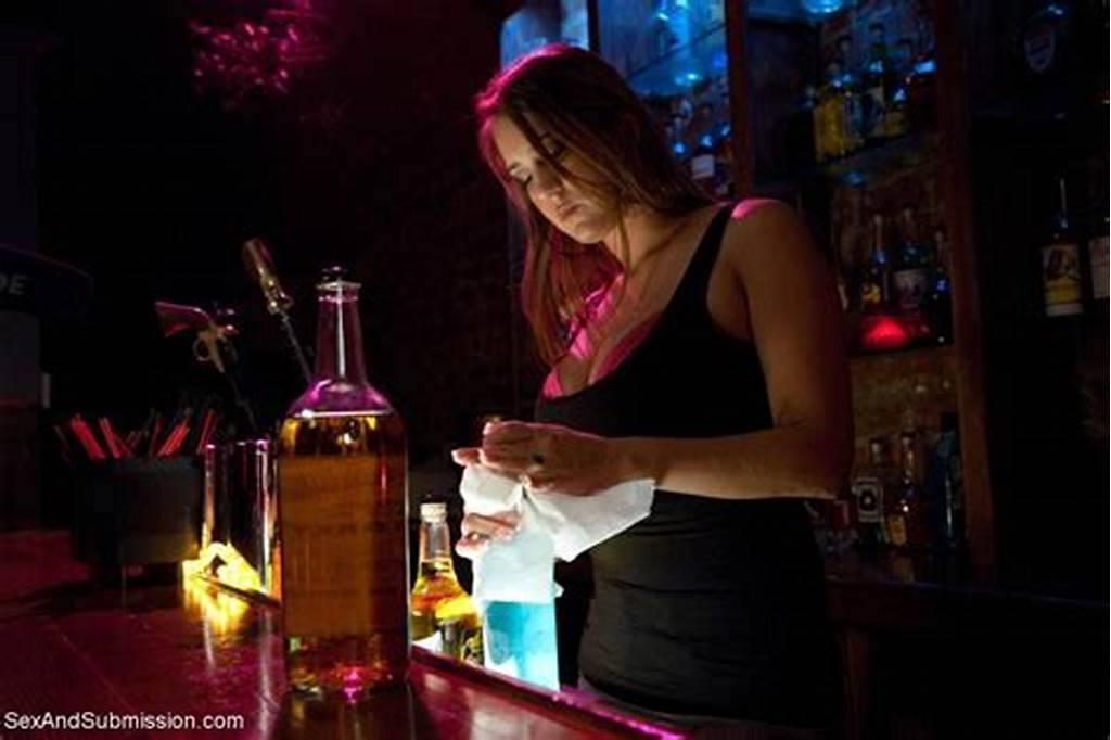 #Busty #Barmaid #Bound #And #Double #Penetrated #By #The #Debt