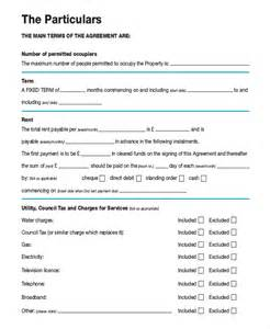 12 month tenancy agreement template month to month rental With 12 month tenancy agreement template