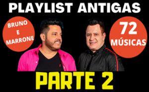 También puedes escuchar música online y descargar música mp3 sin límites. Playlist Bruno e Marrone Antigas 72 Músicas - Parte 2 ...