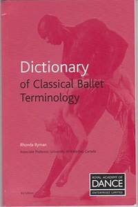 Rad Dictionary Of Classical Ballet Terminology
