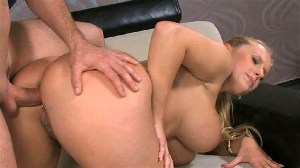 #Chubby #Blond #Chick #With #Huge #Tits #Gets #Button #Fucked #In