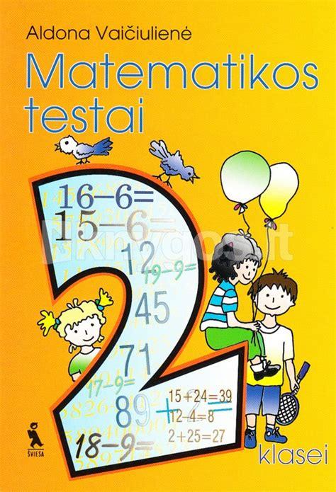 Matematikos testai II klasei   Knygos.lt