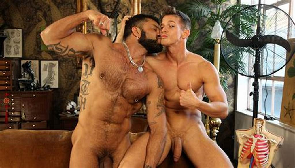 #Rogan #Richards #Bottoms #For #Hunter #Marx #By #A #Pool #Boners