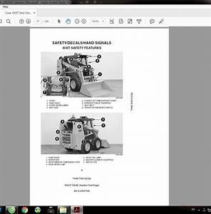 Case 40xt Skid Steer Bur 6