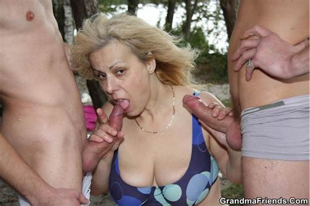 #They #Fuck #The #Granny #In #Her #Mouth #And #Her #Pretty #Pussy #And