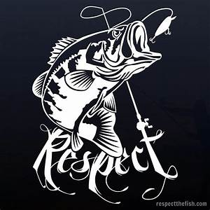 Largemouth Bass Window Sticker Decal  Howtobassfish