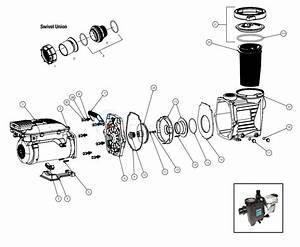 Waterway Power Defender 300 Variable Speed Pump Parts