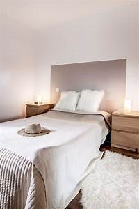 chambre decoration taupe et blanc beige bois diy tete de With chambre jeune adulte homme