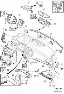 2017 Volvo Xc90 2 0l 4 Cylinder Turbo Instrument Panel