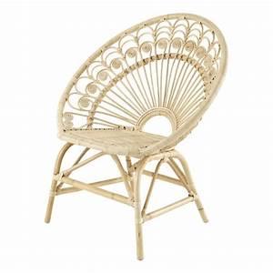 Fauteuil Maison Du Monde : fauteuil vintage en rotin peacock maisons du monde ~ Teatrodelosmanantiales.com Idées de Décoration
