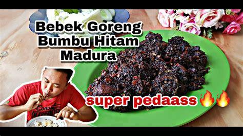 Resep nasi bebek madura bumbu hitam pedas merupakan kuliner masakan asli madura yang memiliki rasa sangat enak serta tekstur dagingnya sup. RESEP BEBEK GORENG BUMBU HITAM KHAS MADURA - YouTube
