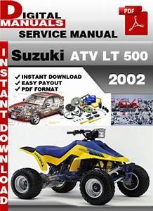 Suzuki Atv Lt 500 2002 Factory Service Repair Manual Pdf