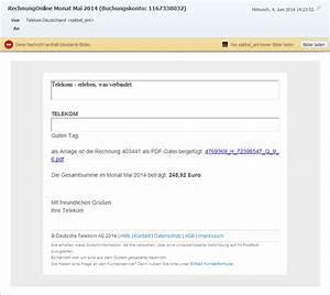 Fake Rechnung : vorsicht fake telekom rechnung ngb ~ Themetempest.com Abrechnung