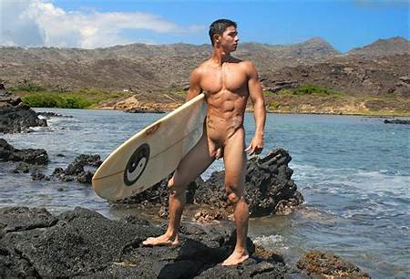 Nude Teenage Boys Surfer