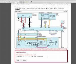 Kia Cerato Workshop Wiring Diagram
