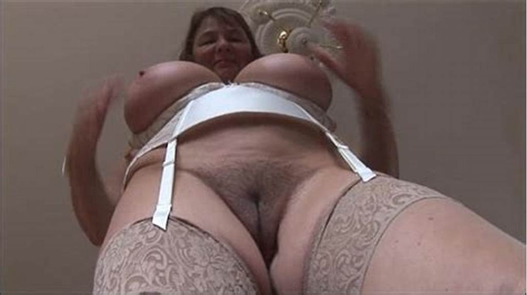 #Busty #Mature #Brunette #With #Huge #Boobs #And #Hairy #Pussy