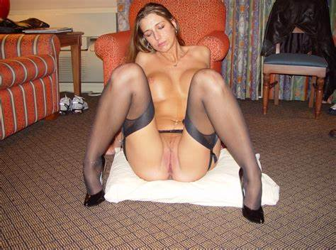 Naked Spanish Wives Showing Socks And Panty