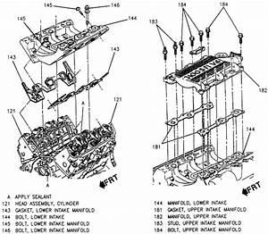 1375 2002 Pontiac Grand Prix Intake Manifold Gasket