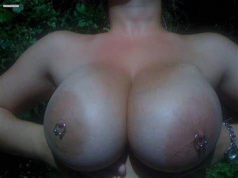Giant Tits Breasted Piercing Tattoo