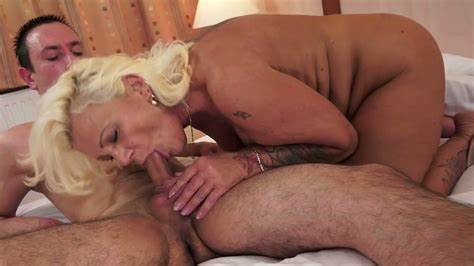 Model Blue Haired Enjoys Riding Penis In Cowgirl Position