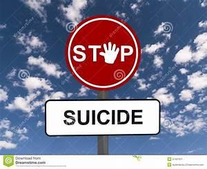 Rencontre Sm Club : stop suicide road sign stock image image 37421971 ~ Medecine-chirurgie-esthetiques.com Avis de Voitures