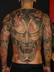 Demon Japonais Dessin : tatouage bras japonais retour d mon par ethno tattoo ~ Maxctalentgroup.com Avis de Voitures