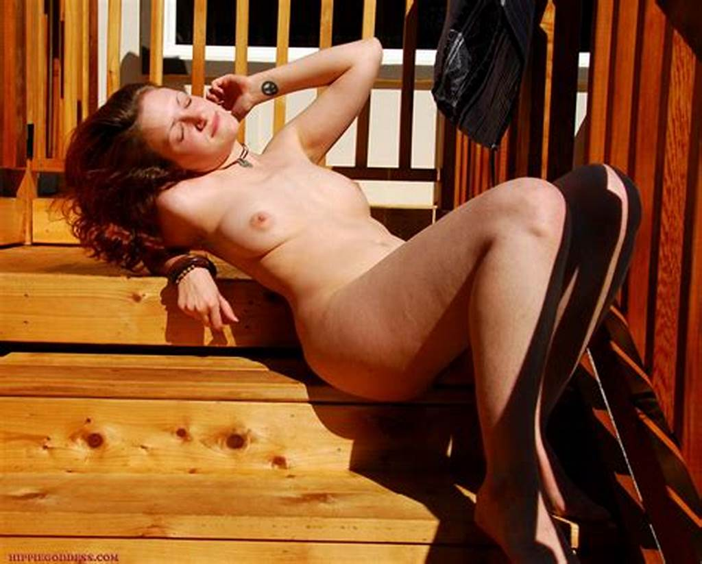 #Hippie #Goddess #Redhead #Hippie #Gets #Naked #On #The #Stairs