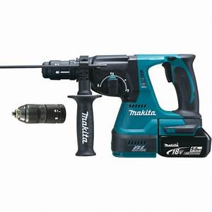 Perforateur Makita Sans Fil 36v : perforateur batterie makita dhr243rtj perforateur 18 v ~ Premium-room.com Idées de Décoration