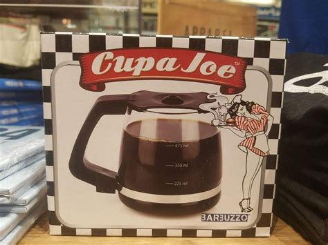 Now you can brew coffee inside of your mug to the perfect drinking temperature anytime, anywhere, at the push of a button. Cupa Joe - Coffee Mug Shaped like Classic Coffee Pot : ProductPorn