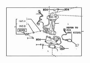 Toyota Camry Fuel Injection Pressure Regulator  Injectors